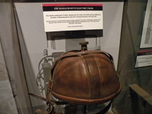 Massachusetts Electric Chair Helmet