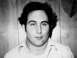 David Berkowitz, at Police Headquarter in Yonkers